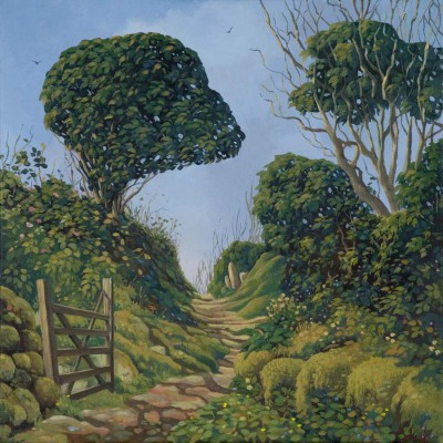 Limited Edition Prints Artist Jo March - Path to Caradon
