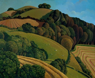 Limited Edition Prints Artist Jo March - View from Tremeddon