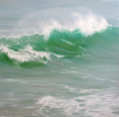 Jo BEMIS - Wave Crest, off St Ives