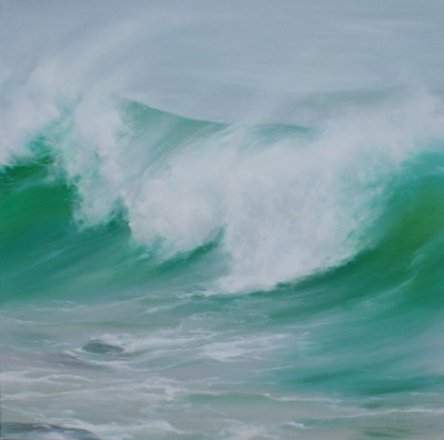 Jo BEMIS - A Wave off the Island, St Ives