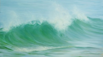 Wave Offshore  painting by artist Jo BEMIS