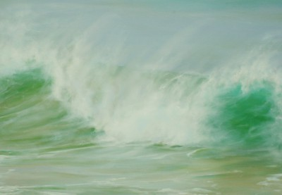 British Artist Jo BEMIS - Windswept Tide