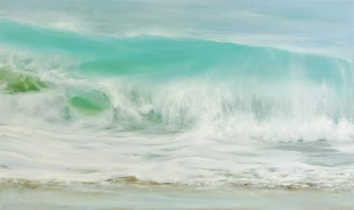 St Ives Shore painting by artist Jo BEMIS