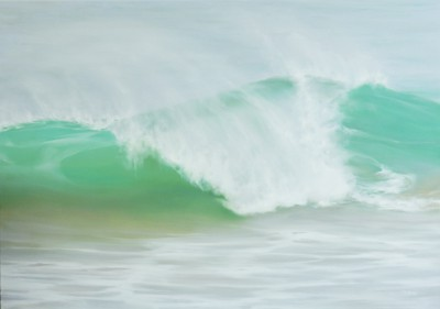British Artist Jo BEMIS - Emerald Wave