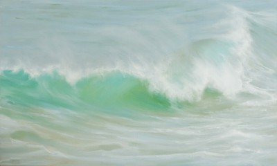 Emerald Turquoise painting by artist Jo BEMIS