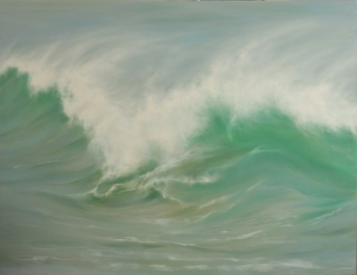British Artist Jo BEMIS - Atlantic Spray