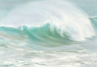 Giant Breakers painting by artist Jo BEMIS