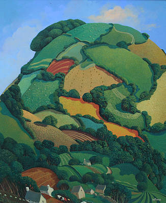 British Artist Jo MARCH - Barley Hill