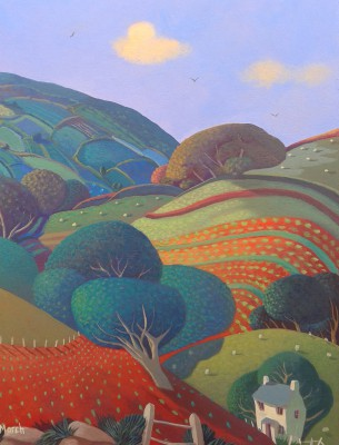 British Artist Jo MARCH - Starling Hill