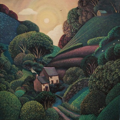 British Artist Jo MARCH - Low Sun
