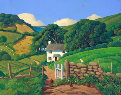 Limited Edition Prints Artist Jo March - Chippen Cottage