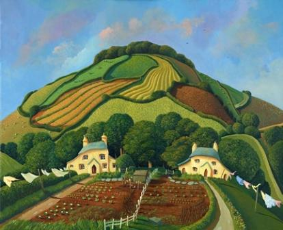 Jo March - Two Sisters Under The Hill