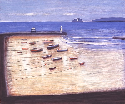 Limited Edition Prints Artist Jock MacInnes - St Ives and Godrevy