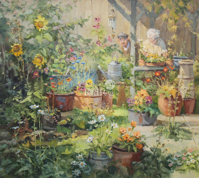 John LINES - Pollys Potting Shed