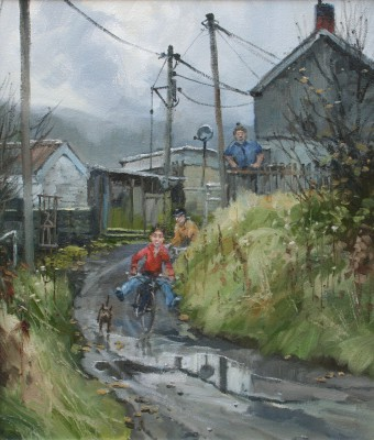 After The Rain painting by artist John LINES