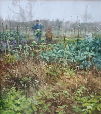 British Artist John LINES - Cabbage Again