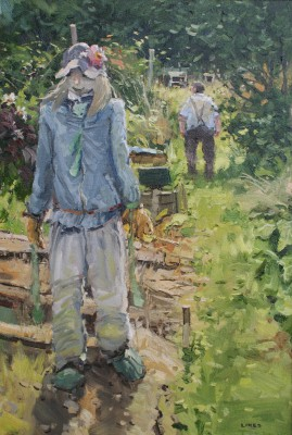 John LINES - The Allotment Blonde