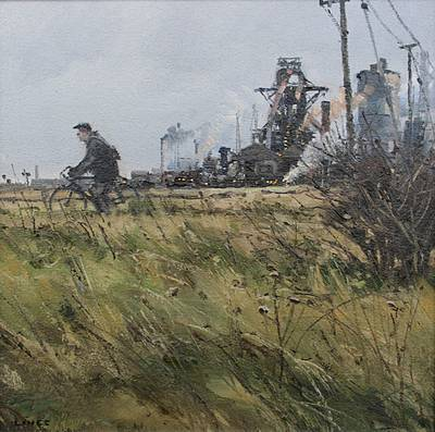 British Artist John LINES - The Blast Furnace Man