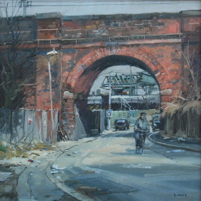 British Artist John LINES - Brummie Bridge
