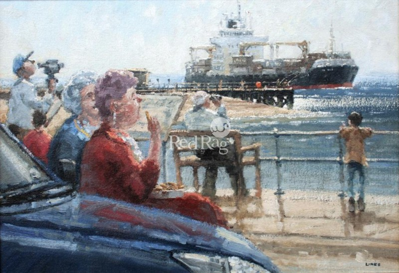 John LINES - Chips and Ships, Felixstowe