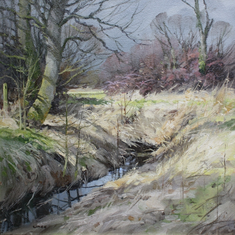 John LINES - Streamside Winter