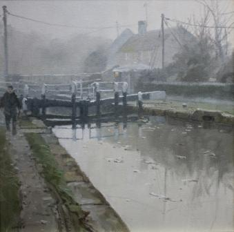 British Artist John Lines - Morning Mist