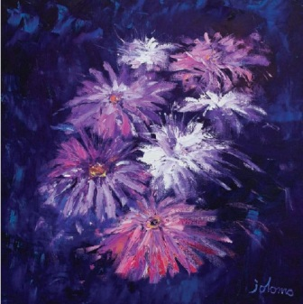 Limited Edition Prints Artist John Lowrie Morrison (Jolomo) - Big Blooms
