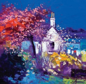 Limited Edition Prints Artist John Lowrie Morrison (Jolomo) - Spring at Crinan