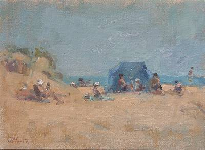 John MARTIN - Family Group, Ile de Re