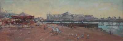 John MARTIN - Palace Pier, September Morning
