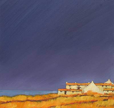 British Artist John PIPER - Summer Haze