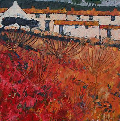 British Artist John PIPER - Autumn Parsley