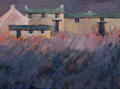 British Artist John PIPER - Evening Farm