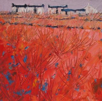 British Artist John PIPER - Summer Farm