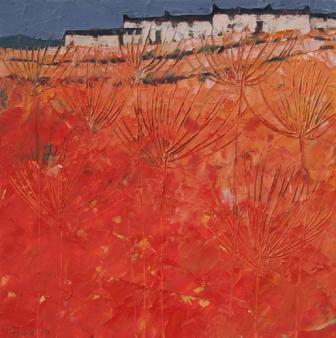 British Artist John PIPER - Summer Row