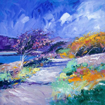 Limited Edition Prints Artist John Lowrie Morrison (Jolomo) - Fresh Day, Scarisdale Oaks, Isle of Mull