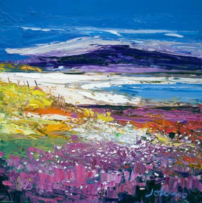 Limited Edition Prints Artist John Lowrie Morrison (Jolomo) - Halaman Bay, Isle of Harris