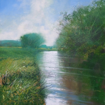Jonathan TRIM - Towards Flatford on the Stour