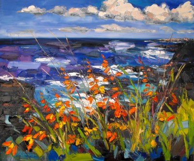 Judith BRIDGLAND, contemporary artist - Across to Portrush