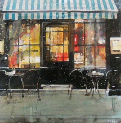Julian SUTHERLAND-BEATSON - Warm Cafe, Covent Garden, London