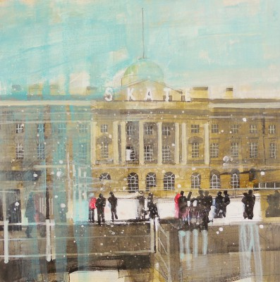 Julian SUTHERLAND-BEATSON - Skating at Somerset House, London