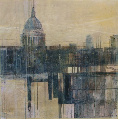 British Artist Julian SUTHERLAND-BEATSON - St Paul's Skyline