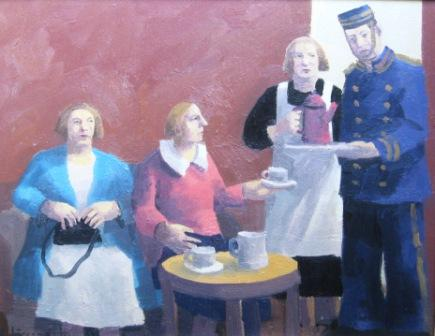 Karolina LARUSDOTTIR - The Ladies Take Morning Coffee