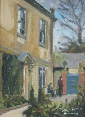 British Artist Karl TERRY - Hidcote, Chipping Norton