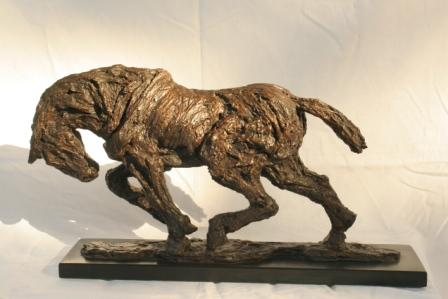 Sculpture and Sculptors Artist Kate DENTON - Shire Horse