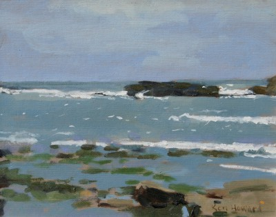 Ken HOWARD RA - Cornish Seascape