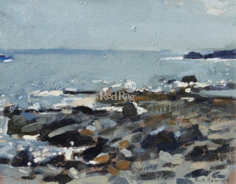 Ken HOWARD RA - Seascape Mousehole