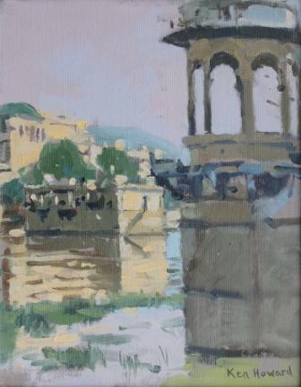 British Artist Ken HOWARD RA - Udaipur