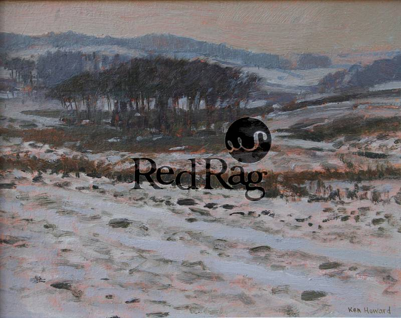 Ken HOWARD RA - Dartmoor Snow