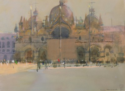 British Artist Ken HOWARD RA - San Marco